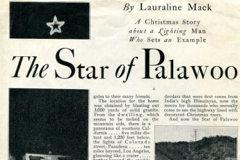 """The Star of Palawoo"" (1930) Electrical Dealer"