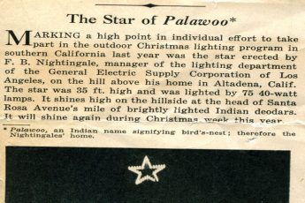"""The Star of Palawoo"" (1929) Electrical News"