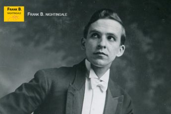 Frank as a magician (1908)