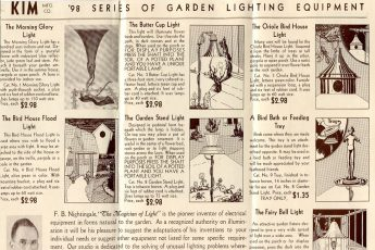 Kim Lighting's first Garden Lighting brochure (1934)