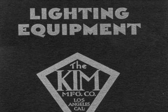 Kim Lighting's first Lighting Equipment Catalog (1933)